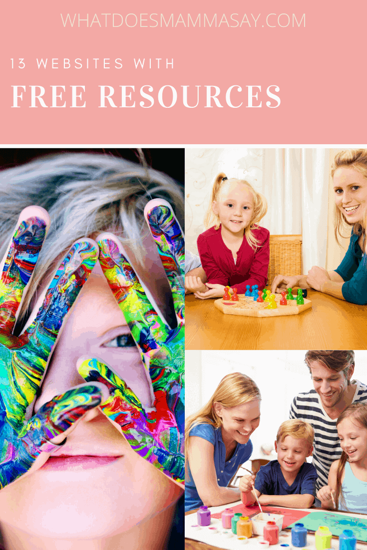 free resources for children