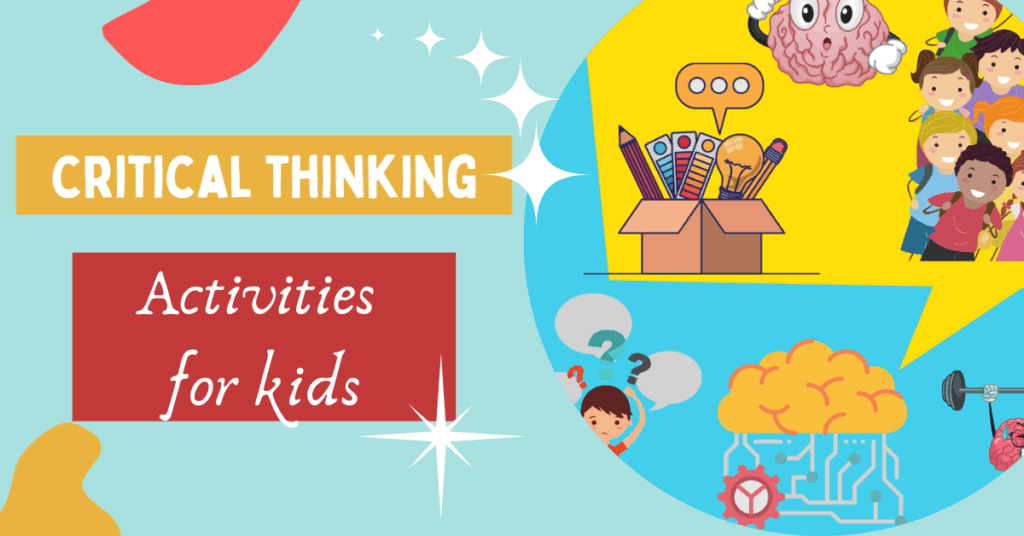 critical thinking activities for kids