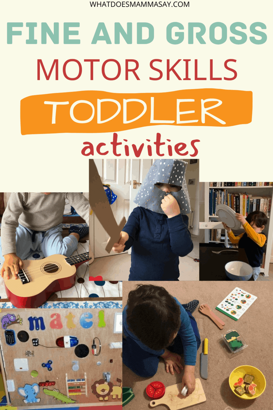 motor skills activities for toddlers