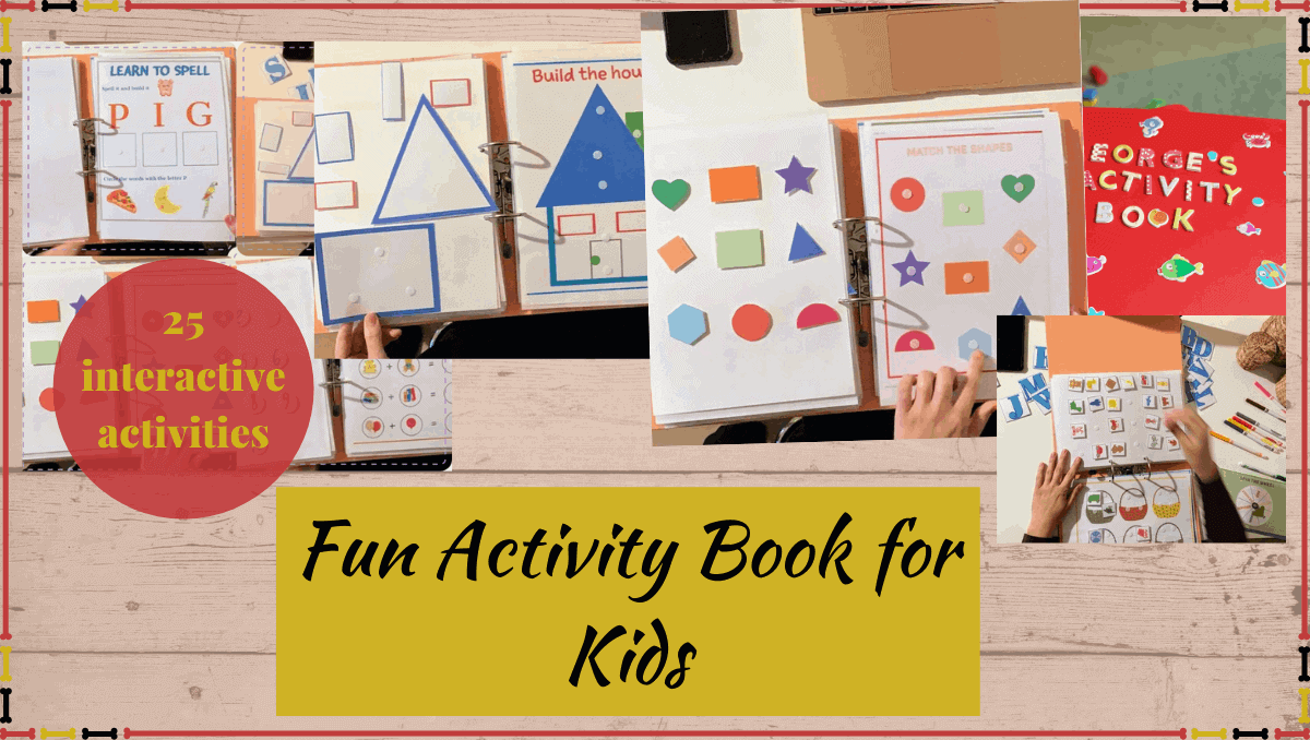 Fun Activity Book for Kids
