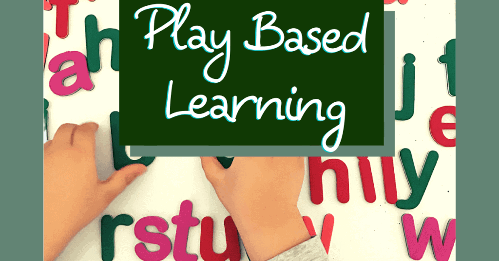 play based learning activities