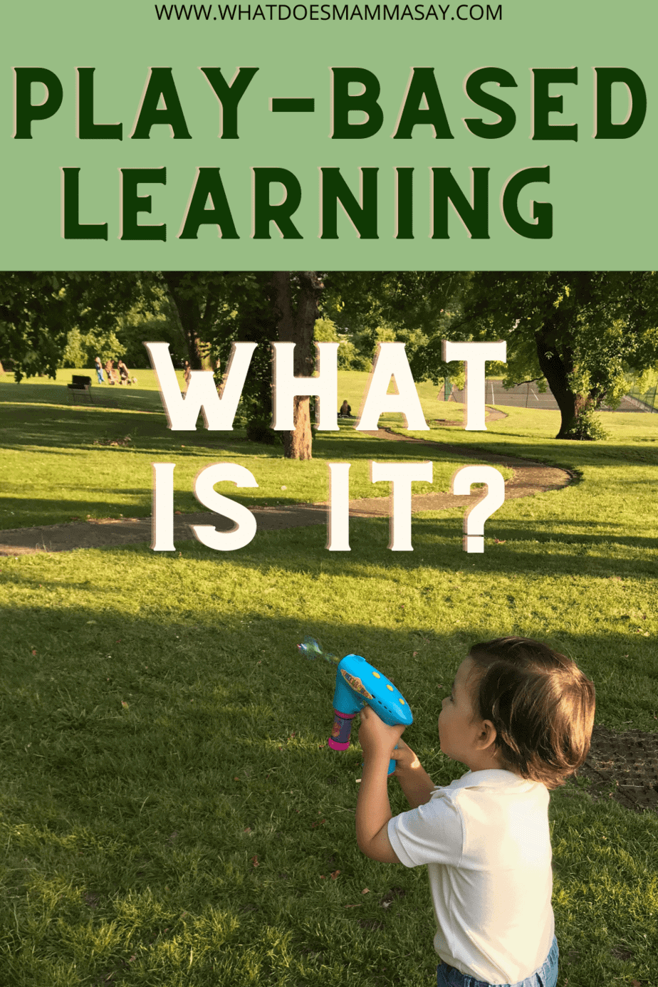 what is play-based learning
