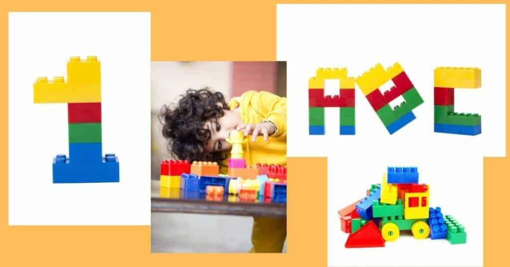 Learning activities with Lego