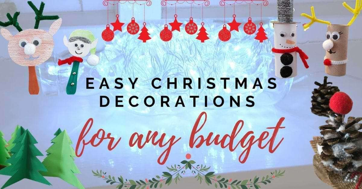 Easy Christmas ornaments for any budget