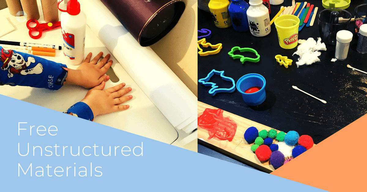 free unstructured materials
