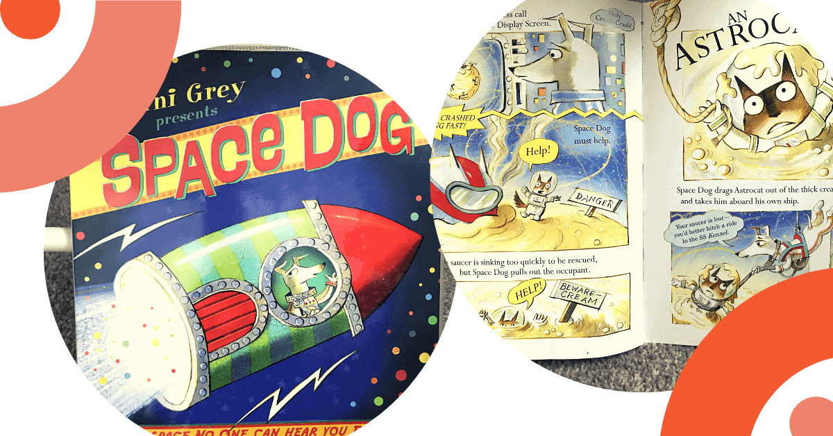 space dog book