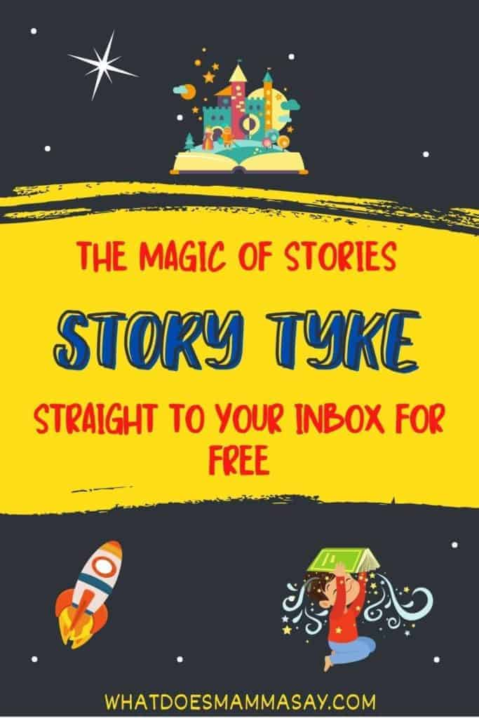 Story Tyke- The magic of stories straight to your inbox for free