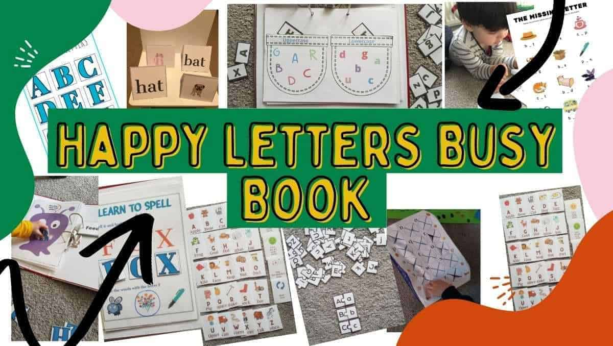 Happy Letters Busy Book featured image