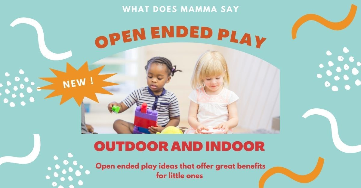 open ended play